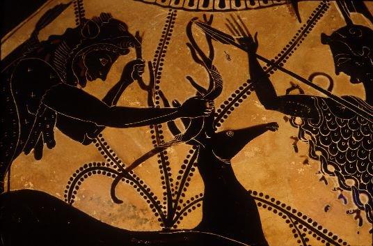 eurystheus_Hercules Third Labor: the Hind of Ceryneia